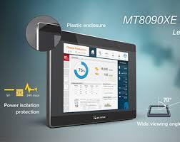 مانیتور 10 اینچ دارای پورت اترنت و 485  با قابلیت کنترل از طریق کارت ایزی اکسس و ای پی اترنت