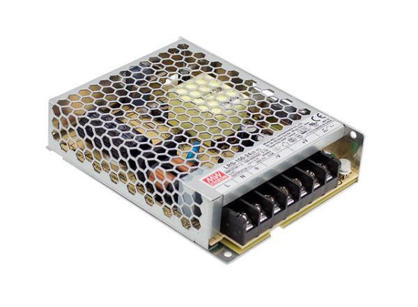پاور 12 ولت 8 امپر کف خواب سری lrs مناسب برای مصارف  روشنایی و صنعتی